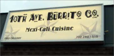 10th Avenue Burrito in Belmar