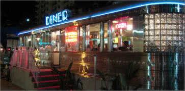 Eleventh Street Diner in Miami Beach