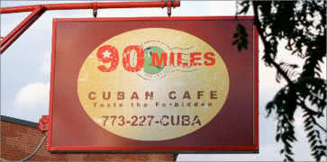 90 Miles Cuban Cafe in Chicago