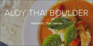 Aloy Thai Cuisine in Boulder