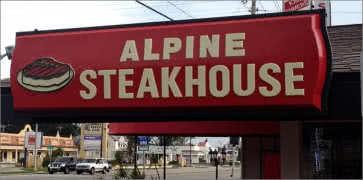 Alpine Steakhouse in Sarasota