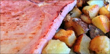 Ham and Potatoes