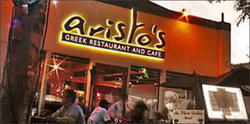 aristo s was named one of the top 100 greek restaurants in
