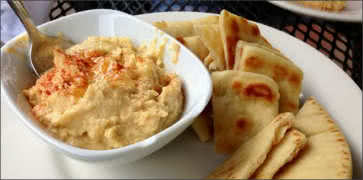 Hummus with Pita Breads