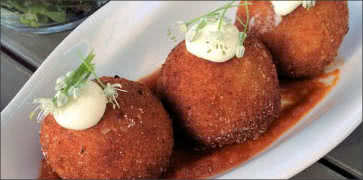 Spicy Beef Potato Croquette
