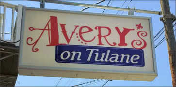 Averys on Tulane in New Orleans