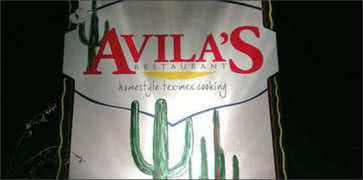 Avilas Cafe in Dallas