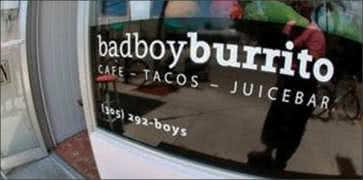 Bad Boy Burrito in Key West