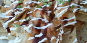 BBQ Shrimp Nachos
