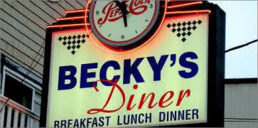 Beckys Diner in Portland