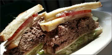 Beef and Swiss Sandwich
