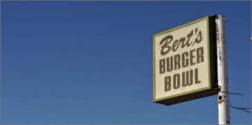 Berts Burger Bowl in Santa Fe