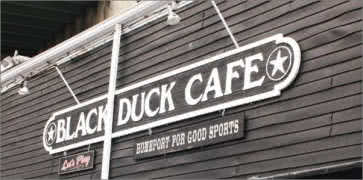 Black Duck Cafe in Westport