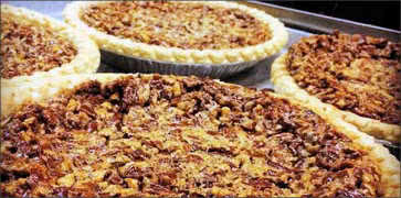 Fresh Homemade Pecan Pies