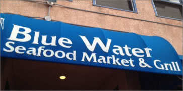 Blue Water Seafood Market and Grill