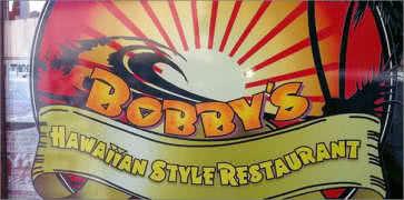 Bobbys Hawaiian Style Restaurant in Everett