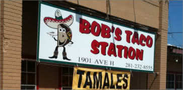 Bobs Taco Station in Rosenberg