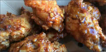 Garlic Soy Fried Chicken Wings