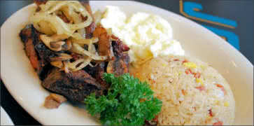 kalbi ribs with macadamia nut rice steamy kitchen recipes kalbi ribs ...
