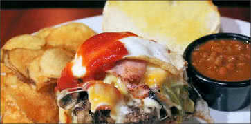 Boston burger company boston ma diners drive ins dives company food parmesan fries the kitchen sink burger workwithnaturefo