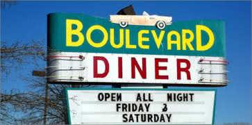 Boulevard Diner in Dundalk