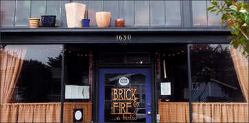Brick and Fire Bistro in Eureka