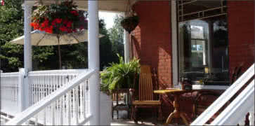 Brick House Cafe Front Porch
