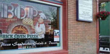 Brick Oven Pizza - BOP - in Baltimore