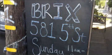 BRIX 581 in Oakland