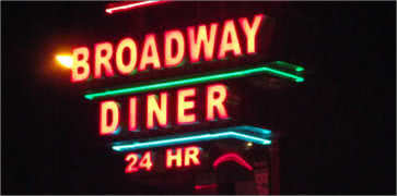 Broadway Diner in Baltimore
