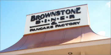 Brownstone Diner in Jersey City