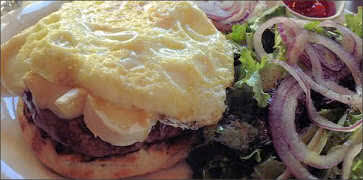 Brunch Burger with Brie