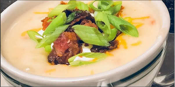 Italian Loaded Baked Potato Soup