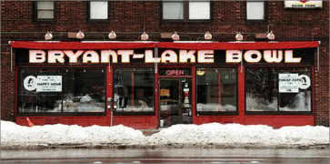 Bryant Lake Bowl in Minneapolis