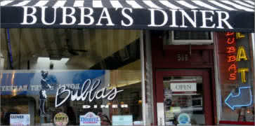 Bubbas Diner in San Anselmo