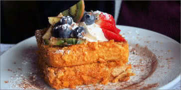 Captain Crunch Cereal French Toast