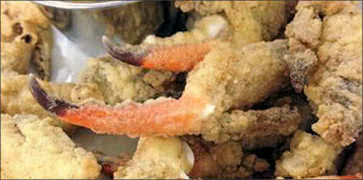 Battered Crab Claws