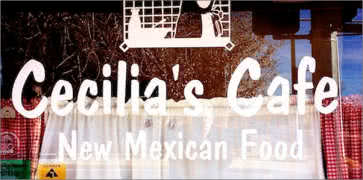 Cecilias Cafe in Albuquerque