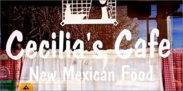 Cecilias Cafe in Albuquerque