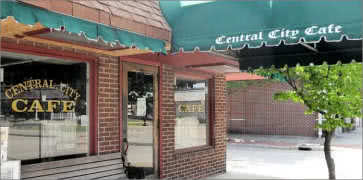 Central City Cafe in Huntington