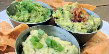 Guacamole Sampler with Chips