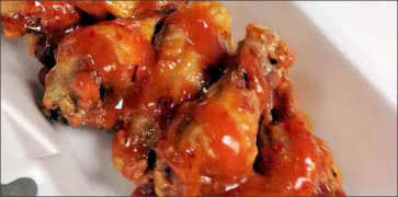 Thai Chili Peanut Wings
