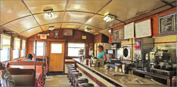 Charlies Diner Interior