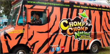 Chomp Chomp Nation Food Truck in Orange County