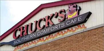 Chucks Southern Comfort Cafe in Burbank