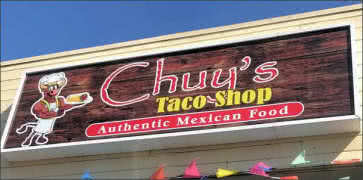 Chuys Taco Shop in San Diego