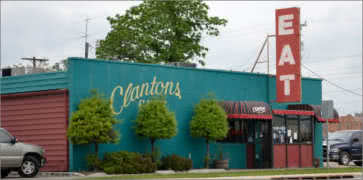 Clantons Cafe in Vinita