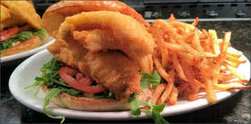 Colossal Walleye Sandwich