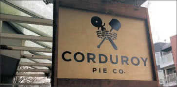 Corduroy Pie Company in Vancouver in Vancouver