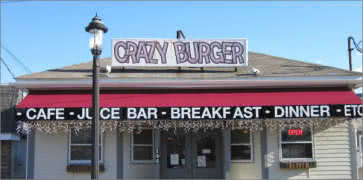 Crazy Burger Cafe Juice Bar